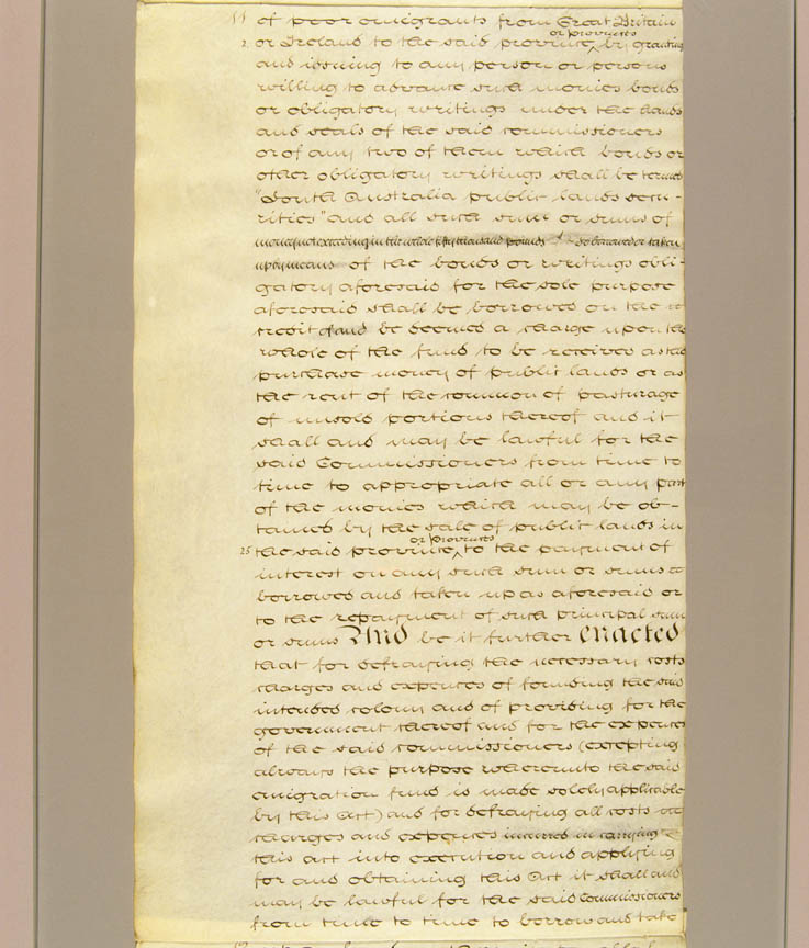 South Australia Act, or Foundation Act, of 1834 (UK), p11