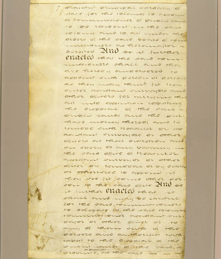 South Australia Act, or Foundation Act, of 1834 (UK), p7