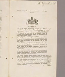 Constitution Act 1890 (UK), p1