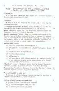 ACT Supreme Court Transfer Act 1992 (Cth), p2