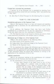 ACT Supreme Court Transfer Act 1992 (Cth), p3