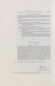 Seat of Government Acceptance Act 1909 (Cth), p6