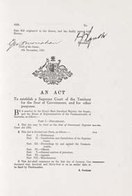 ACT Supreme Court Act 1933 (Cth), p1