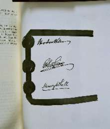 Treaty of Versailles 1919 (including Covenant of the League of Nations), signature1