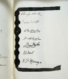 Treaty of Versailles 1919 (including Covenant of the League of Nations), signature3