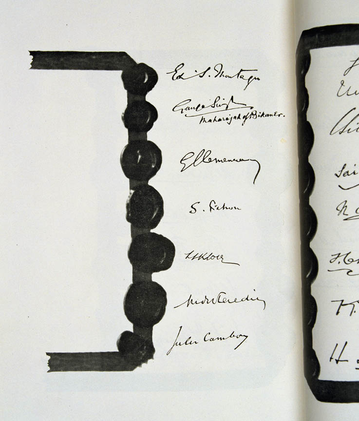 Treaty of Versailles 1919 (including Covenant of the League of Nations), signature4