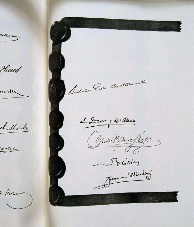 Treaty of Versailles 1919 (including Covenant of the League of Nations), signature7