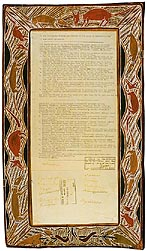 Yirrkala bark petitions 1963 (Cth), p1bark