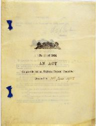 Commonwealth Franchise Act 1902 (Cth), cover