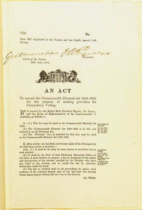 Commonwealth Electoral Act 1924 (Cth), p1