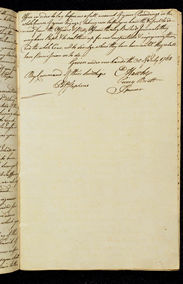 Secret Instructions to Lieutenant Cook 30 July 1768 (UK), p3