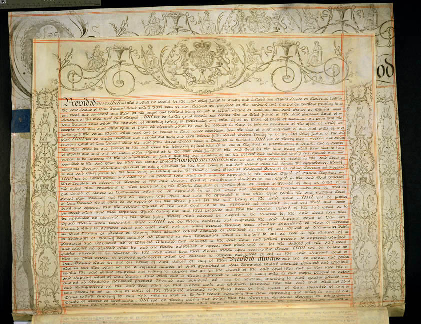 Charter of Justice 13 October 1823 (UK), p2