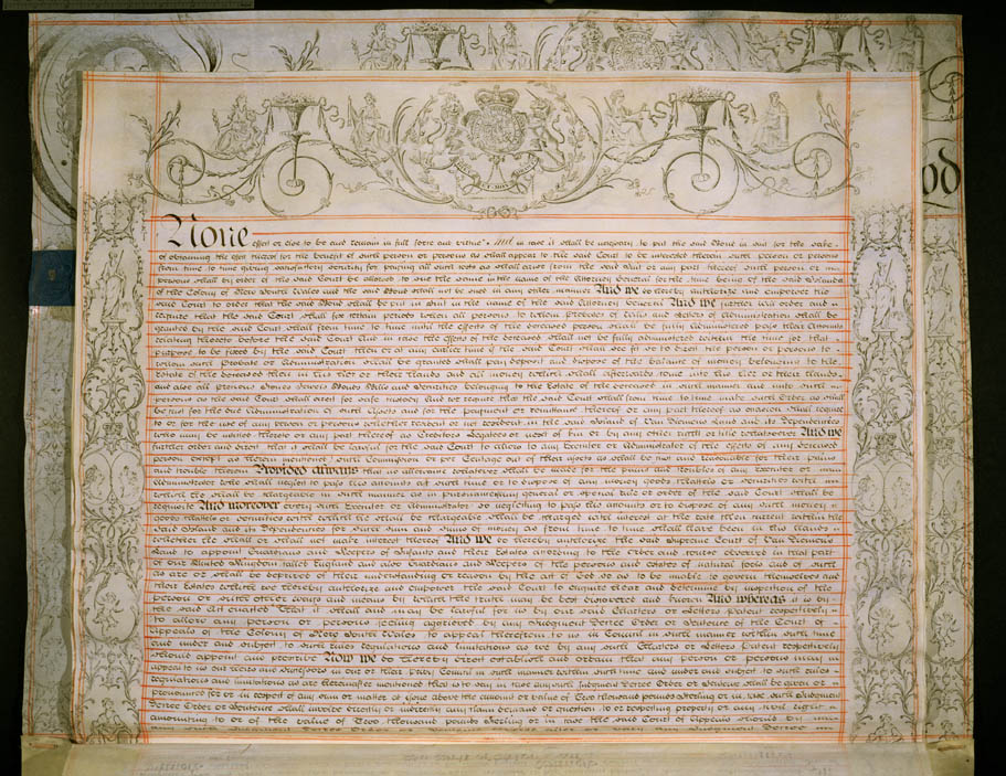 Charter of Justice 13 October 1823 (UK), p5