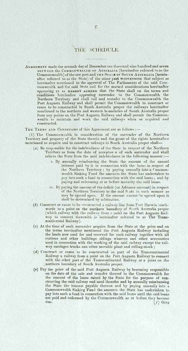 Northern Territory Surrender Act 1908 (SA), p6