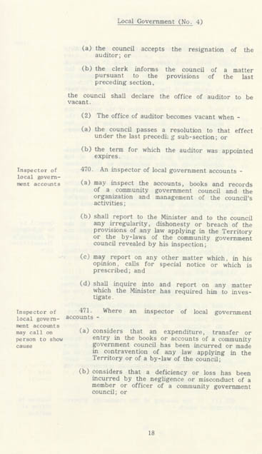 Local Government Act 1978 (NT), p18