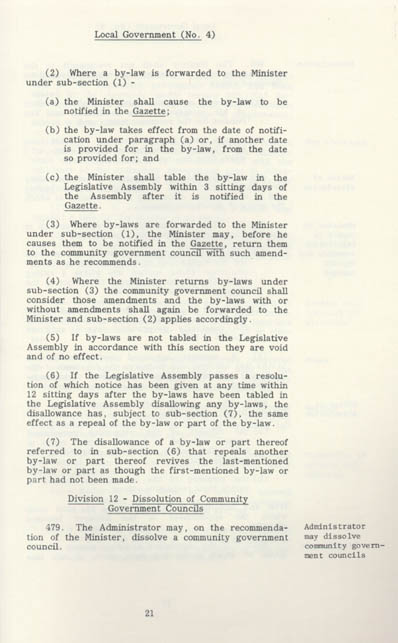 Local Government Act 1978 (NT), p21