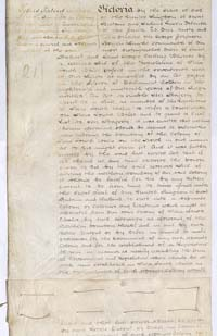 Letters Patent erecting Colony of Queensland 6 June 1859 (UK), p1