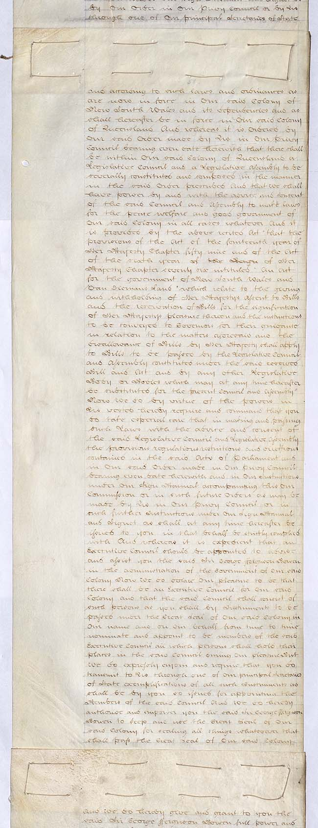 Letters Patent erecting Colony of Queensland 6 June 1859 (UK), p3