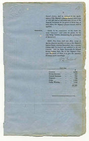 Order-in-Council establishing Representative Government in Queensland 6 June 1859 (UK), p13