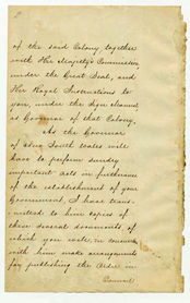 Order-in-Council establishing Representative Government in Queensland 6 June 1859 (UK), p2