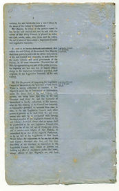 Order-in-Council establishing Representative Government in Queensland 6 June 1859 (UK), p6