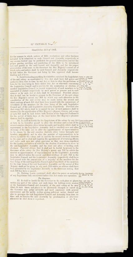 Constitution Act 1867 (Qld), p5