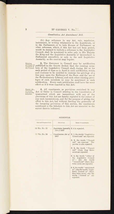 Constitution Act Amendment Act 1922 (Qld), p2