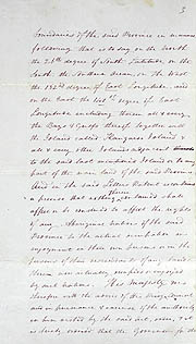 Order-in-Council Establishing Government 23 February 1836 (UK), p3