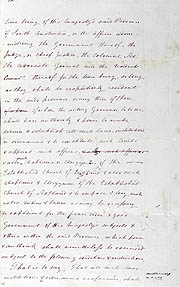 Order-in-Council Establishing Government 23 February 1836 (UK), p4