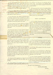 South Australian Commission Land Sale Regulations 1835 (issued by the Commissioners in the UK), p2