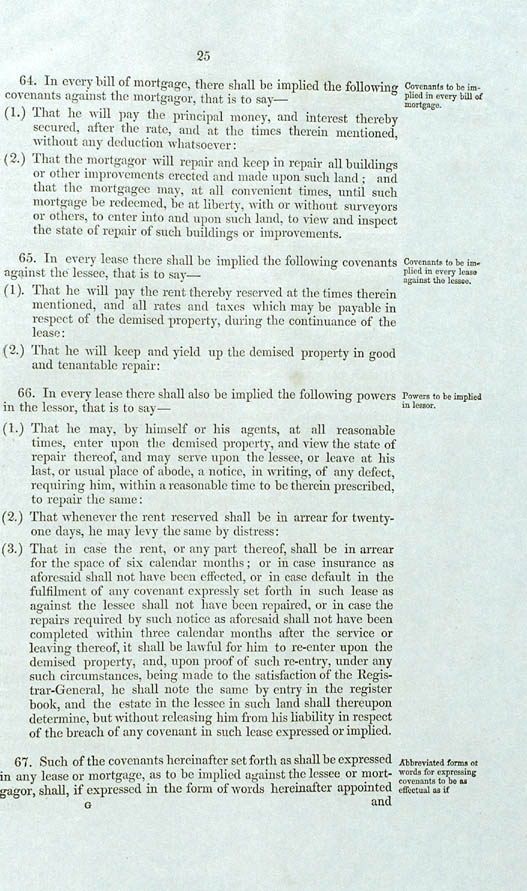 Real Property or 'Torrens Title' Act 1858 (SA), p25