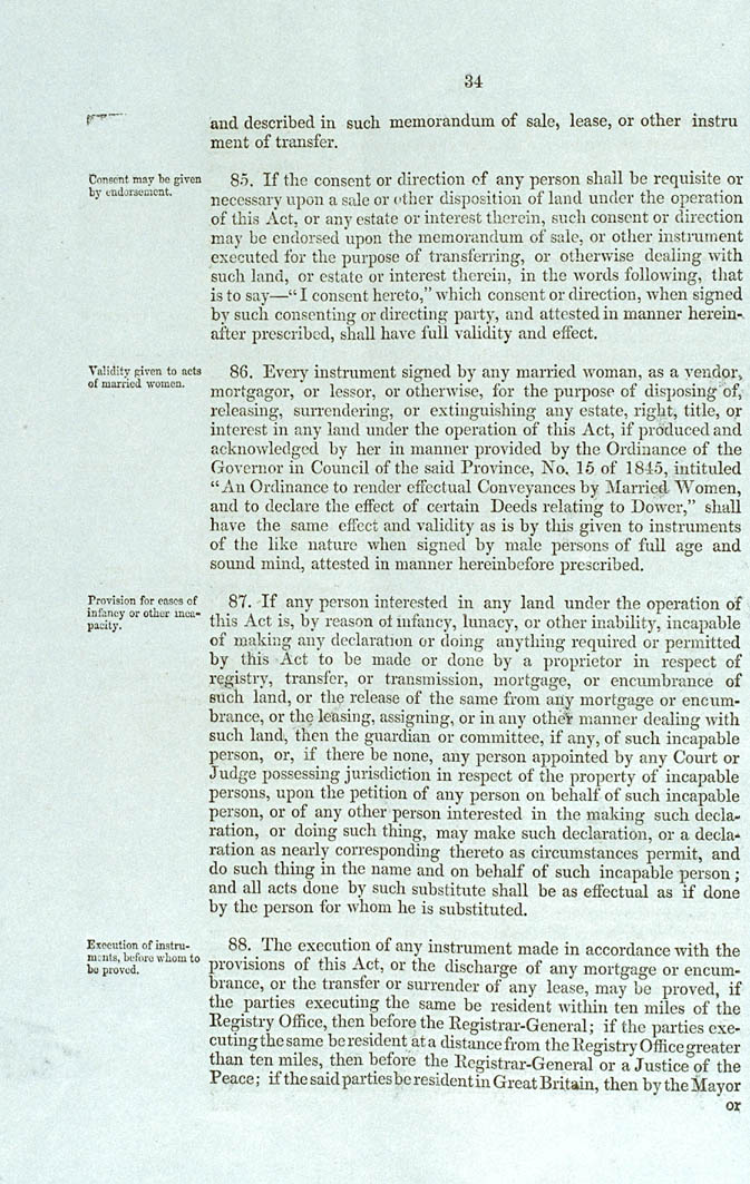 Real Property or 'Torrens Title' Act 1858 (SA), p34