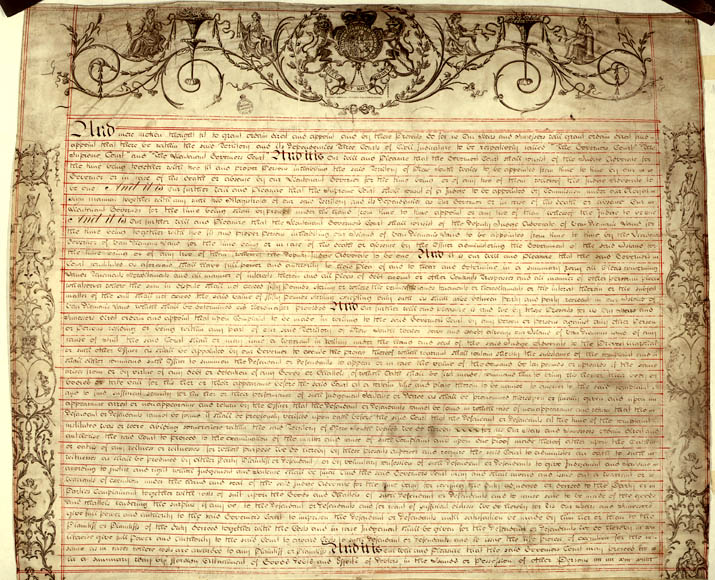 Charter of Justice 2 April 1814 (UK), p2