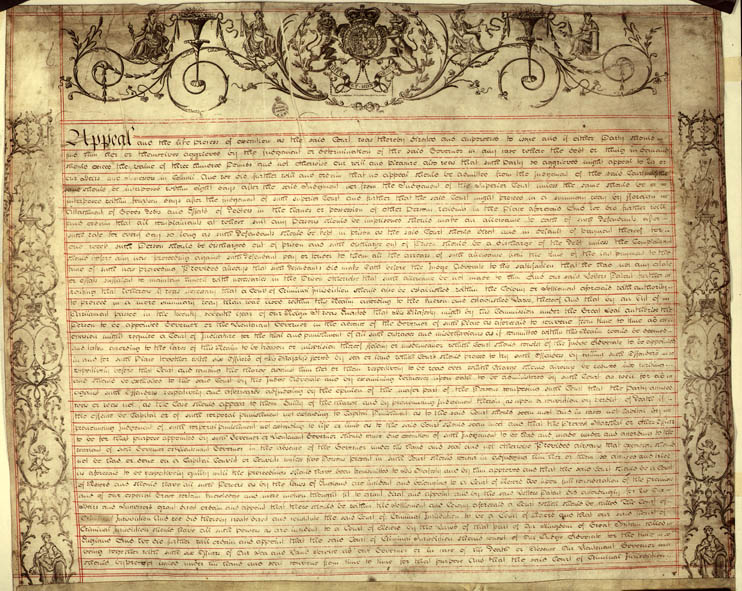 Charter of Justice 2 April 1814 (UK), p3
