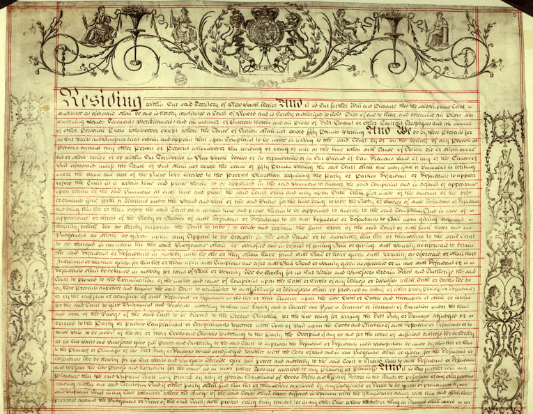 Charter of Justice 2 April 1814 (UK), p5