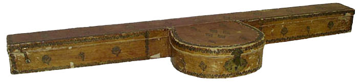 Charter of Justice 13 October 1823 (UK), banjo box
