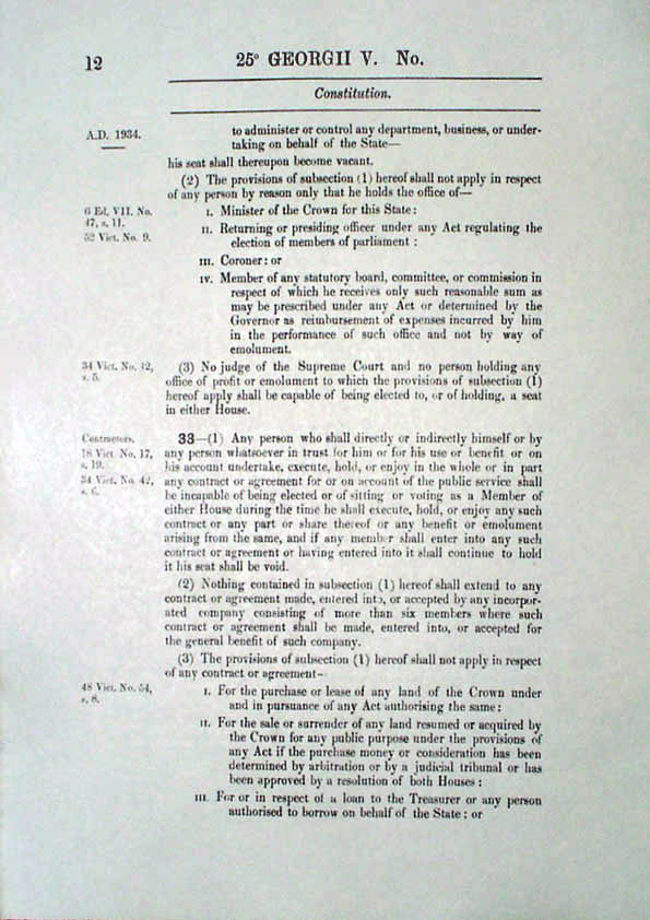 Constitution Act 1934 (Tas), p12