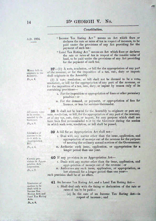 Constitution Act 1934 (Tas), p14