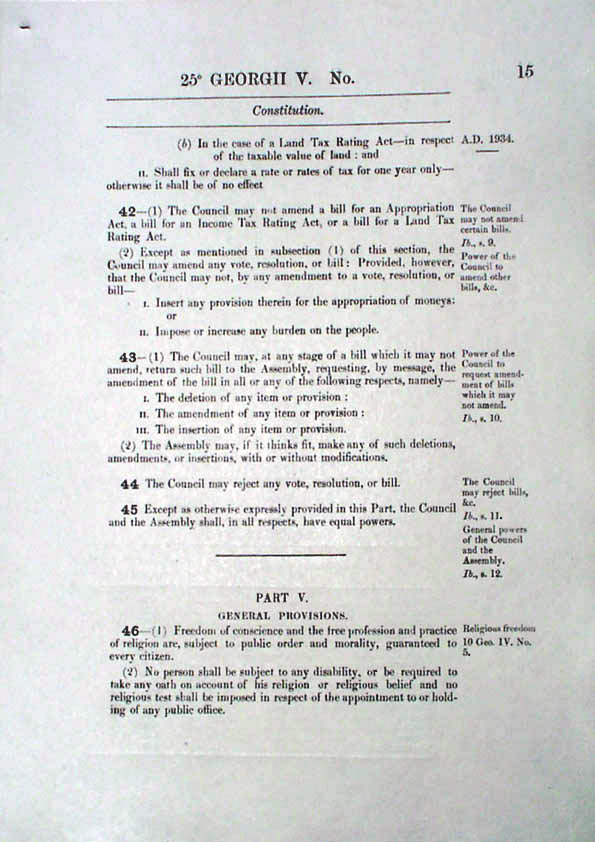 Constitution Act 1934 (Tas), p15