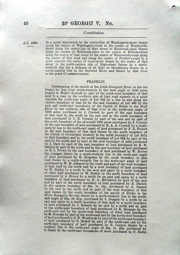 Constitution Act 1934 (Tas), p40