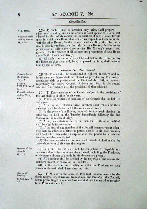 Constitution Act 1934 (Tas), p8