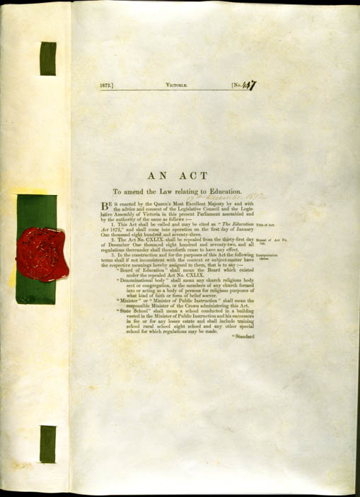Education Act 1872 (Vic), p1