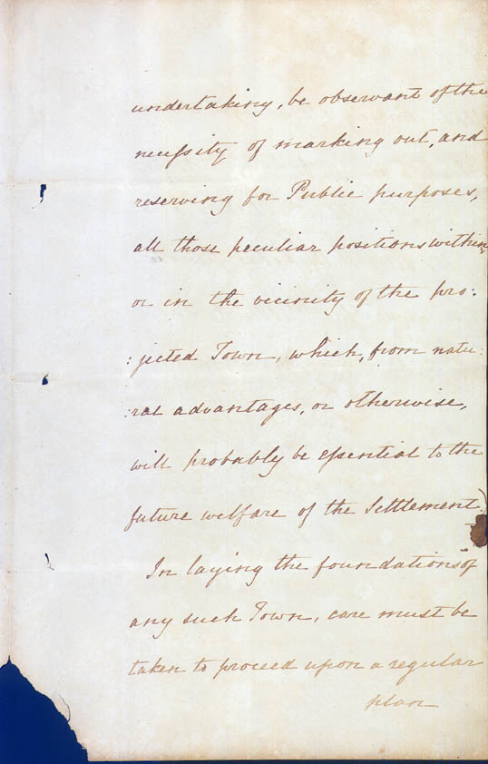 Lieutenant-Governor Stirling's Instructions 30 December 1828 (UK), p7