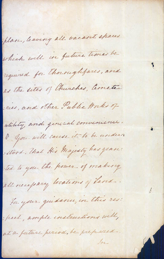 Lieutenant-Governor Stirling's Instructions 30 December 1828 (UK), p8