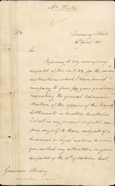 Despatch No. 2 re legal and judicial subjects 28 April 1831 (UK), p1