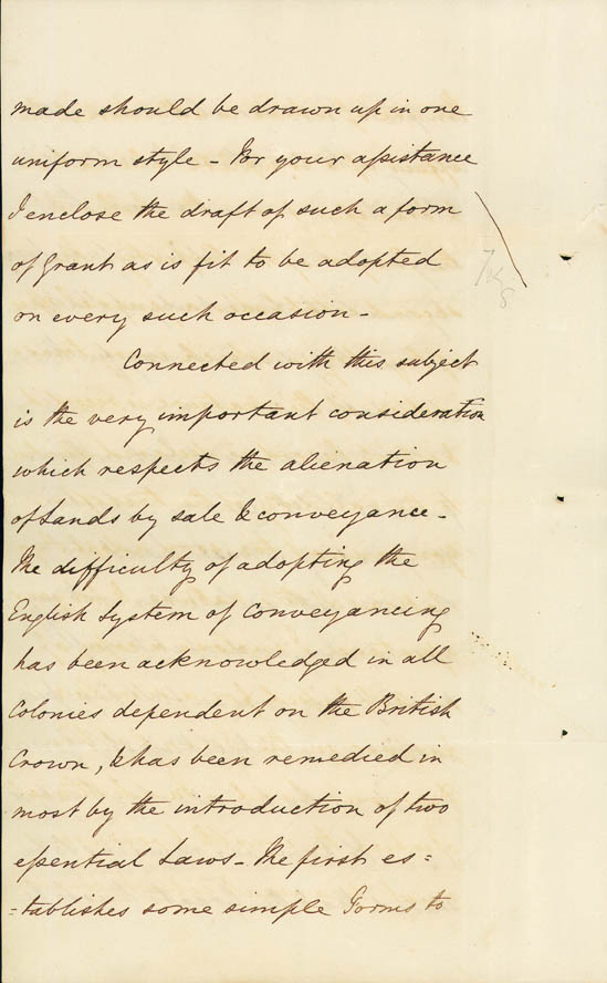 Despatch No. 2 re legal and judicial subjects 28 April 1831 (UK), p22
