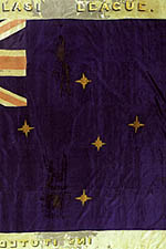 Flag with the Union Jack and Southern Cross.