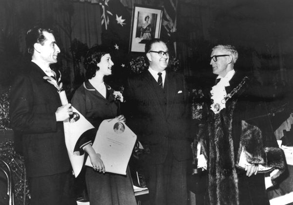 Citizenship ceremony of the 1950s