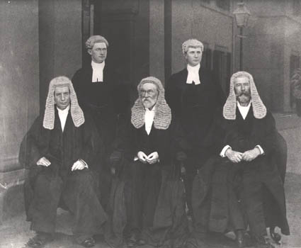 First three judges of the High Court of Australia
