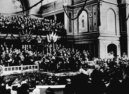 Grand ceremony of the opening of the Commonwealth Parliament